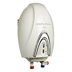 Morphy Richards Quente-3KW 1-Litre Instant Water Heater (Off-White)