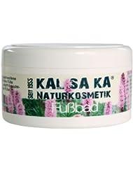 KAL SA KA - Fußbad Natur Gegen geschwollene Füße bei Überlastung - wirkt gegen Hornhaut & Hühneraugen - 250 g