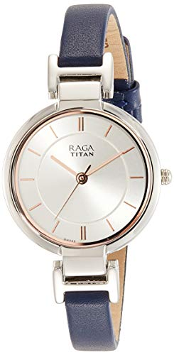 10. Titan Raga Viva Analog Silver Dial Women's Watch