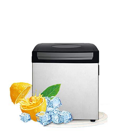 TX Ice Maker Maschine FüR Zu - Bester Ice WüRfel, Mit Tragbarer Arbeitsplatte Wo Die EiswüRfel Maschine - 25Kg In 24 Stunden Herstellt,Kommerzielle Kleine Teestube Ktv - Ice Maker Mit Kühlschränke