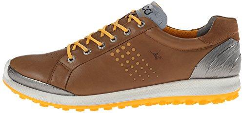 ECCO Men's Biom Hybrid 2 Golf Shoe,Camel,43 EU/9-9.5 M US