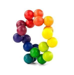 PLAYABLE ART- Ball, Juego de Bolas de Madera (Billoy A7072)