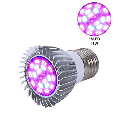 LED Wachsen Licht E27 18W Vollspektrum Pflanze
