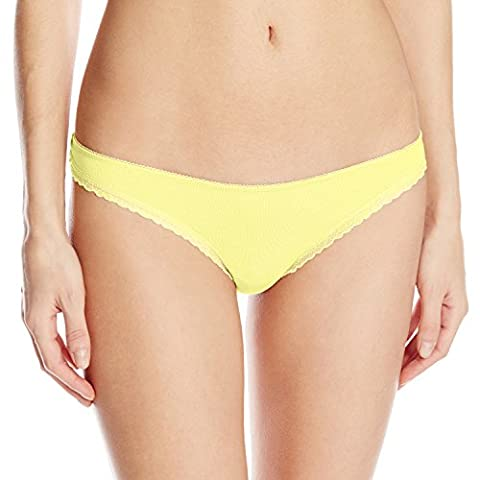 b.tempt'd by Wacoal Women's B.Natural Thong Pant, Snapdragon, Large