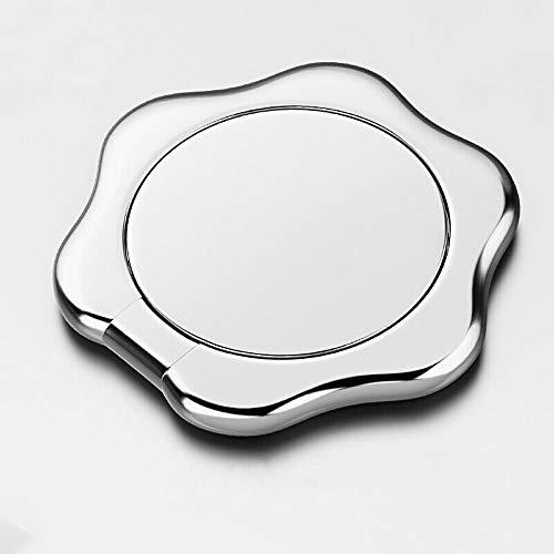 Weastion Faule Halterung Ring Schnalle Handy Ring Halterung Geeignet für Apple Vivo Huawei Xiaomi Meizu Oppo Universal-Blütenblatt-Unterstützung Alle Metallmode Glänzend Dünnschliff Handyhalter
