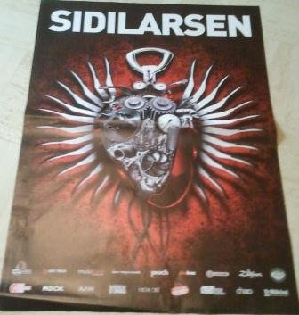 Sidilarsen, 69 x Poster mostra/96 cm