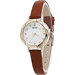 Damen Modeuhr / Armbanduhr Quartz / Leder Band Cool / Bequem Schwarz / Weiß / Rot / Braun / Rosa Marke