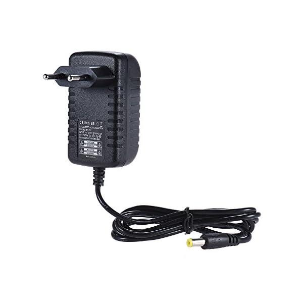 ammoon 9V 1A Adattatore Pedali Chitarra Basso 100 ~ 240V in Ingresso EU Plug