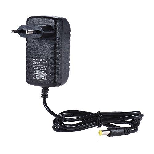 ammoon 9V 1A Netzteil Adapter Konverter für Gitarren Bass Effekt Pedal 100 ~ 240V Eingang EU Stecker