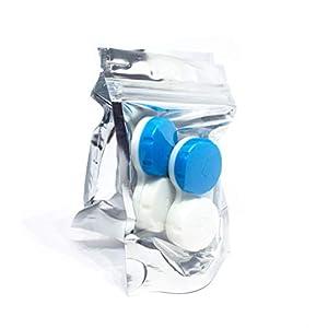 SIAH 6er Set – Hochwertige Kontaktlinsenbehälter Aufbewahrungsbehälter