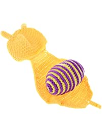 IPOTCH Bambino Appena Crochet Cappello di Lana Fotografia Costume Prop  Outfit Set 39506ea1b10d