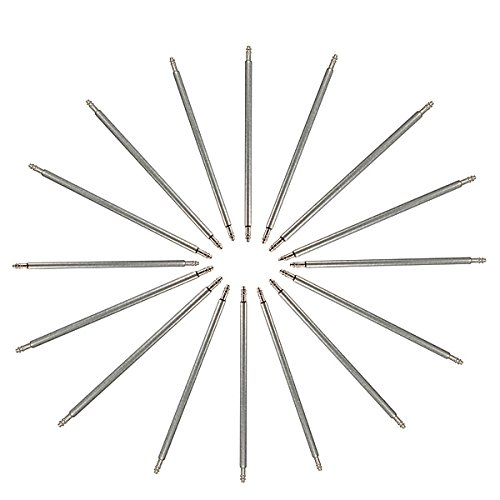 Spring Steel Bar (ExcLent 30PC 8-22mm Mixed Stainless Steel Watch Band Spring Bar Strap Link Pins)
