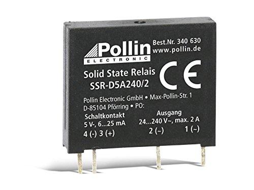 Solid State Relais SSR-D5A240/2, 5 V-, 2 A/240 V~ -