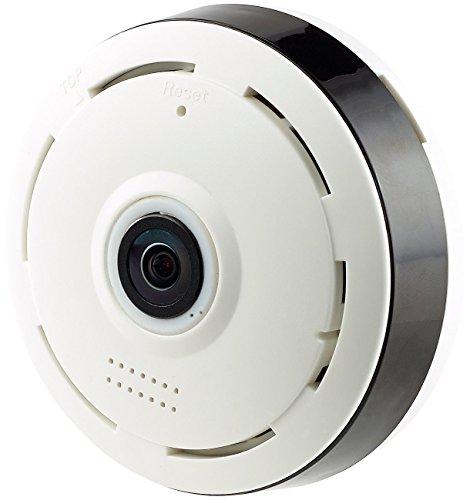 7links 360 Grad Camera: IP-Panorama-Überwachungskamera für 360°-Rundumsicht & Nachtsicht, 960p (360 Grad Überwachungskamera)