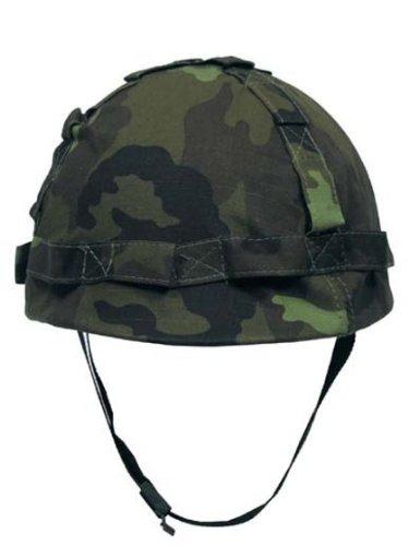 US Helm mit Stoffbezug CZ tarn des Herstellers Militär a
