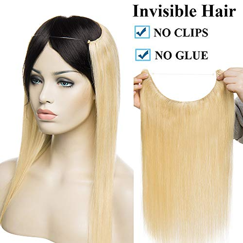 Extensiones Cabello Natural Hilo Invisible No Clip