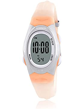 RetroLEDWasserdichte digitale Uhren/Mädchen Mädchen multifunktionale elektronische Uhren-A