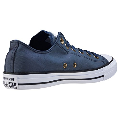 Converse Ladies Scarpe Chuck Taylor Ox Snakeskin Modello Argento / Bianco Blu