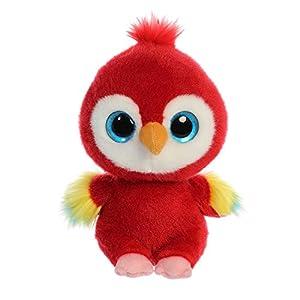 YooHoo Lora Scarlet Macaw 61117 - Guacamayo (20,3 cm), Color Rojo
