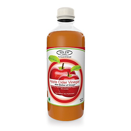 Sinew Apple Cider Vinegar With Mother of Vinegar- 500 ml Unfiltered, Unpasteurised with all the natures benefits
