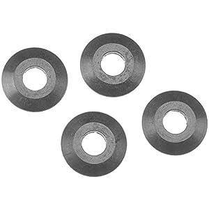 Axial axa1090Arandela (10-Piece), 4,8x 14mm, Color Negro