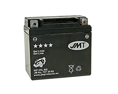 Batterie JMT GEL - YTX5L-BS 12 Volt - Keeway F-Act 50 Racing SFCS005005 année de construction 2009-2011