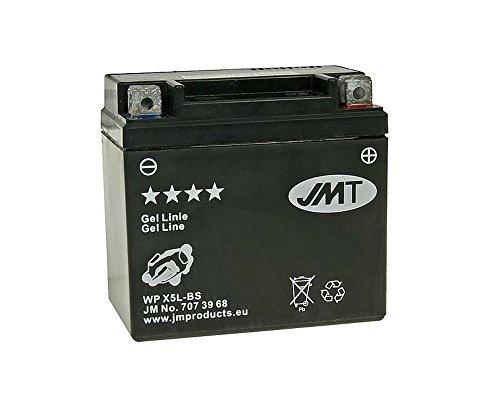Preisvergleich Produktbild Batterie JMT GEL - YTX5L-BS 12 Volt - Keeway F-Act 50 Bj. 2009-2011 [ inkl.7.50 EUR Batteriepfand ]