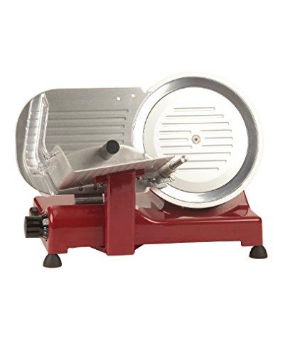 Ohmex OHM-LUSSO-25GL/RD affettatrice Elettrico Rosso 140 W
