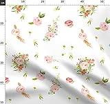 Shabby Chic, Blumen, Romantisch, Garten, Wasserfarben, Baby