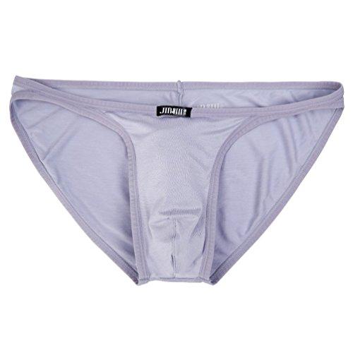 JINSHI Herren Bambusfaser sexy Slip Unterwäsche Triangle Unterhose Multi-12Pack