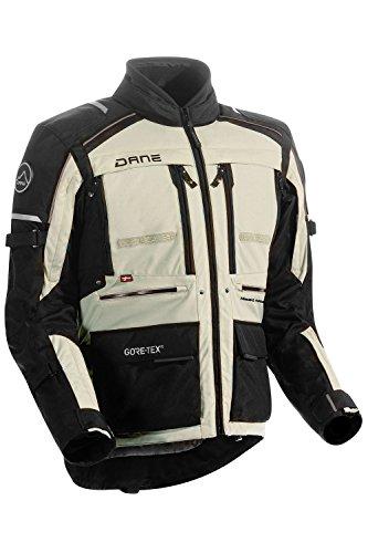 Dane LIMFJORD 2 GORE-TEX® Motorradjacke Farbe schwarz/sand, Größe 54 2 Gore