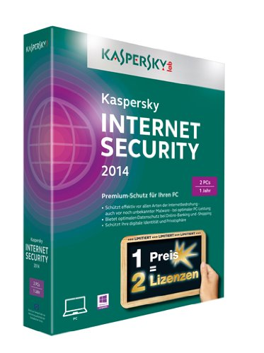 Kaspersky Internet Security 2014 – 2 PCs (Limited Edition)