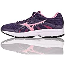 Mizuno Zapato de Running Para Mujer 2014 Wave Sport Crusader Violeta, Rosa y Rojo