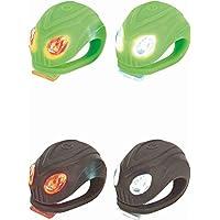 Prophete LED-Silikon-Flashlight-Set Beleuchtung, grün/pink/anthrazit, M