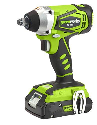 Greenworks Boulonneuse sans fil 24V Lithium-ion (sans batterie ni...