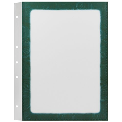 Decor Service Menus, PVC, vert, 32 x 1,5 cm