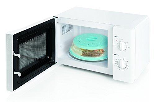 Praktische gourmet-collapsible Mikrowelle Splatter shield-teal-keep Mirowave clean-bpa free-steam Belüftungsöffnungen verhindert Soggy-verwendet als Schüssel Deckel oder High Dome Deckel -