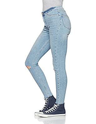 New Look Women's Vanessa Disco Busted Knee Skinny Jeans
