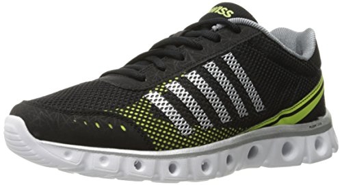 K-Swiss X Lite Athletic Cmf, Chaussures Multisport Outdoor Homme Noir - Black (Black/Chrcl/Yellow 093)
