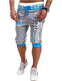 Yying Pantalone Corti Uomo - Jogging Solido Shorts Confortevole Vita  Elastica Pantalone Bermuda Casual Runnign Fitness 3e2af0cd277