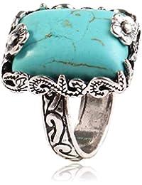 D&D-Joyería Anillos Bisutería De aro rígido De Sello Juego de Anillos Midi Solitarios Index Finger Ring Ring Plaza Pine