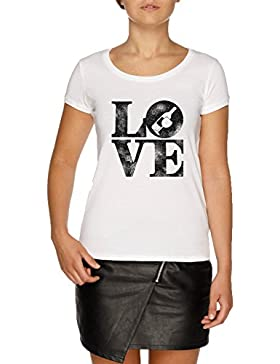Jergley Love Wine Camiseta Blanco Mujer | Women's White T-Shirt