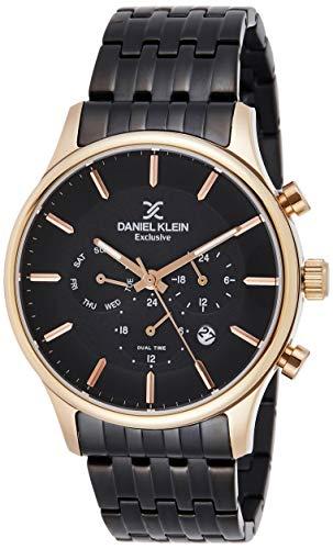 Daniel Klein Analog Black Dial Men's Watch-DK11911-5