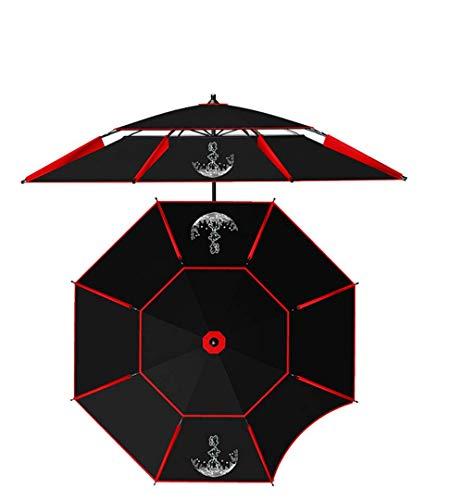 XXD Tragbarer Verstellbarer Sonnenschirm, Kippbare Isolierung Und UV-Schutz, Belüftung Von Oben, Geeignet Für Gärten Und Strände, Unverzichtbare Angelschirme