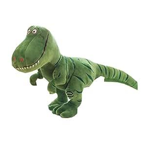 40cm Geschenke International T-Rex Soft Dinosaurier Plüschtier (klein, grün)