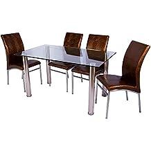 Conjunto mesa extensible y 4 sillas(varias combinaciones de colores!)