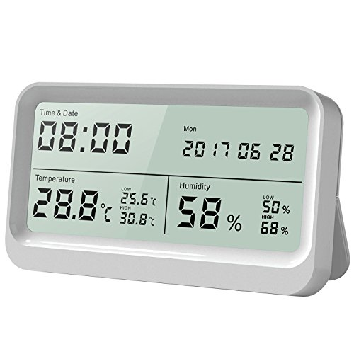 Digitales Thermo-Hygrometer AngLink Thermometer Hygrometer