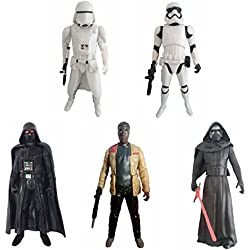 Star Wars The Force Awakens Set of 5 Different 6 Inch Action Figures