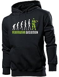 FEUERWEHRMANN - FEUERWEHR EVOLUTION Cooler Comedy Herren Kapuzenpullover S-XXL