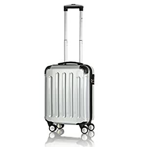 reisekoffer koffer trolley boardcase bordcase hartschale handgepaeck silber sport. Black Bedroom Furniture Sets. Home Design Ideas